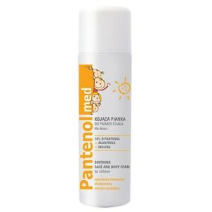 PANTHENOL KIDS Soothing face and body foam for children - 150ml