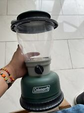 Coleman Lantern/Missing Light Bulb AS IS No Batteries Included