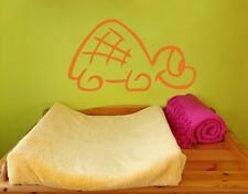 Funny Turtle - Highest Quality Wall Decal Sticker