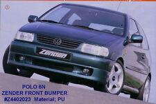 VW POLO MK3 (6N) GENUINE ZENDER FULL FRONT BUMPER SPOILER