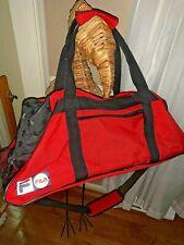 Dial Extra Large Duffel Gym Tennis Bag BIG Strap Mesh Compartments 18x25 ❤️tw11j