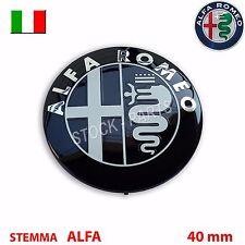 Stemma ALFA ROMEO MITO GIULIETTA 147 156 159 Logo Fregio volante 40 mm 4 cm