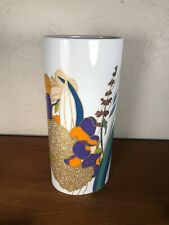 ROSENTHAL ~ MCM Pop Art Tall OVAL VASE #A (Studio Linie, Wolf Bauer) ~ Germany