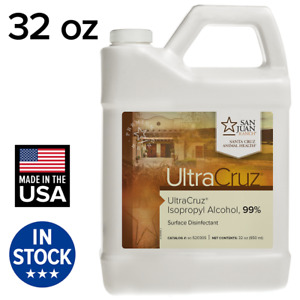 UltraCruz Isopropyl Alcohol, 99%, 32 oz
