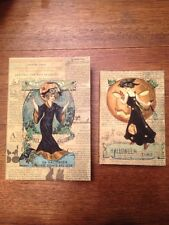 Bethany Lowe Halloween Hocus Pocus Nesting Books-- Retired
