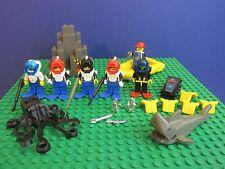 Genuine LEGO AQUANAUTS minifigura AQUAZONE subacquei SQUALO OCTOPUS GOMMONE Set 403