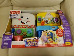 Fisher-Price Laugh & Learn Learning Kitchen Brand New in Box