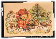 Hallmark Vintage Mary Hamilton Christmas Critters Tree Love Gift Of All Card