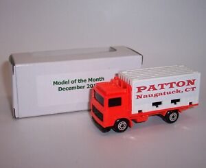 """""""MATCHBOX"""" **PATTON** VOLVO CONTAINER TRUCK PROMOTIONAL MIB"""