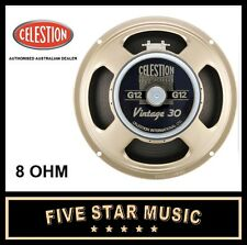 "CELESTION VINTAGE 30 12"" GUITAR SPEAKER 8 OHM V30 LOUDSPEAKER V-30 G12 - NEW"