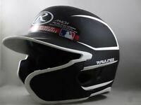 NEW Rawlings MAC Baseball Batting Helmet Black/White Junior 6 3/8-7 1/8 RHT