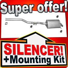 Rear Silencer MERCEDES CLK (C209) 220 CDI Coupe Exhaust Back U90
