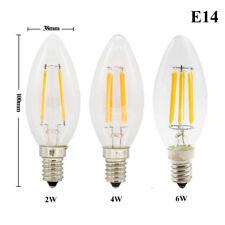 Vintage Dimmable E14 E27 LED Filament Candle Light Globe Bulb 2W 4W 6W 8W Lamp