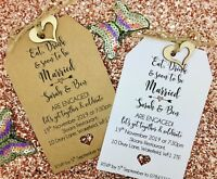 Engagement Party Invitation, Eat & Drink, Save The Date Card