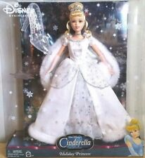 BARBIE CINDERELLA WALT DISNEY HOLIDAY PRINCESS NRFB-model doll collection Mattel