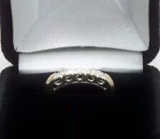 .20 CT ROUND DIAMOND ENGAGEMENT BAND RING 14k WHITE GOLD
