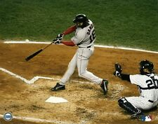 JOHNNY DAMON & JORGE POSADA 8x10 Great Action Photo RED SOX vs YANKEES 2004 ALCS
