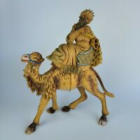 "FONTANINI? WISEMAN ON Camel  MADE IN ITALY NATIVITY 16.5 "" Tall. - Defect"