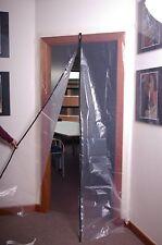 Dustguard Dust Guard Zipped Builders Polythene Doorway Dust Sheet Protector Kit