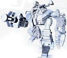 Crabster, heavy mobile patrol turret Tehnolog Robogear Cyberon Planet Sentinel