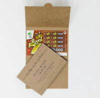 Favor Lottery Ticket Holder YOUR TEXT Scratch Card Wallet Personalised Favour