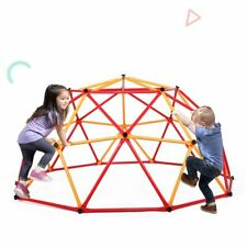 Outdoor Kids Playground Dome Climber Playground Climbing Frame Backyard Gym
