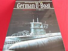 SHIP Modeling Guide #1 German U-Boat Japanese Model Kit Book