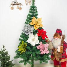 6X Artificial Flowers Christmas Decorations Home Christmas Tree Xmas Tree Decor