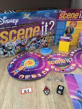 DISNEY Scene it? THE DVD GAME 2004 Metal Movers Mickey, Minnie, Pluto, Donald