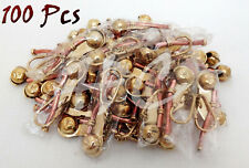 Lot of 100 Pieces Brass Boatswain Pipe Keychain Nautical Marine Bosun Whistle