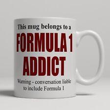 Nouveauté Formule 1 Racing Addict Grand Prix Fan Tasse Cadeau Céramique Thé Tasse à café