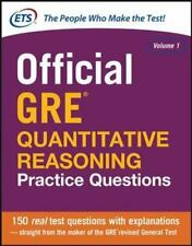 Official GRE Quantitative Reasoning Practice Questions Educational Testing Servi