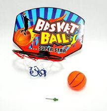 Panier de Basketball avec ballon 28X21CM BASKET BALLE POUR BUREAU WG Fête Jeu
