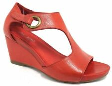 High (3 in. to 4.5 in.) Wedge Leather Wear to Work Heels for Women