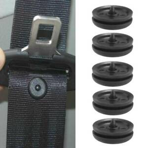 5x Anti-slip Clips Seat Belt Stopper Buckle Button Fastener Safety SUV Car Parts