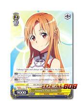 Weiss Schwarz Sword Art Online x 4 Asuna's Coy Smile [SAO/S26-E011 U] English