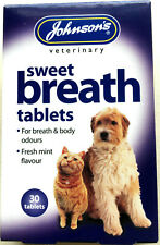 Johnson's Sweet Breath Tablets (Suitable for Dog and Cats)