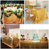 Rectangular Glitter Sequin Wedding Tablecloth Party Decoration 100cm*150cm
