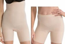 Spanx Plus Size Shaper 3X Higher Power & Power Shaping Shorts 2 Pack Nude New