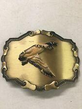 Vintage Belt Buckle Goose