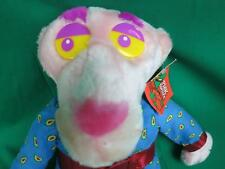 NEW BIG PINK PANTHER PIPE SMOKING BATHROBE SEXY PLUSH STUFFED ANIMAL CARTOON TOY