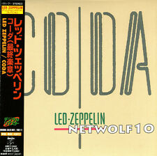 Led Zeppelin - CODA - Mini-LP CD - Japan with OBI - Sealed - AMCY 2442