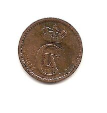 1889 Denmark One Ore-Strong Details!!