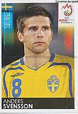 N°401 VIGNETTE PANINI SVENSSON SWEDEN SVERIGE EURO 2008 STICKER