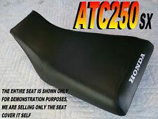 ATC250SX 1985-87 replacement seat cover for Honda ATC 250 ATC250 SX Black 311A