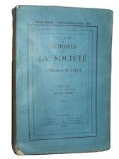 Mémoires Société Antiquaires de l'Ouest, 1898: Organisation du Travail en Poitou