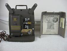 Vintage Keystone 100G 8mm Film Projector~Working
