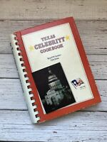 Vintage Texas Celebrity Cookbook 1986 1980's Housewife Tex Mex Recipes