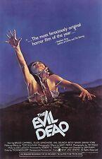 Evil Dead Movie Poster (1981) Horror