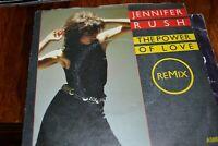 "JENNIFER RUSH   THE POWER OF LOVE     7"" SINGLE     CBS RECORDS  A 5003   1985"